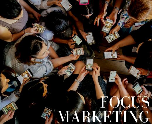 focus marketing per wedding planner