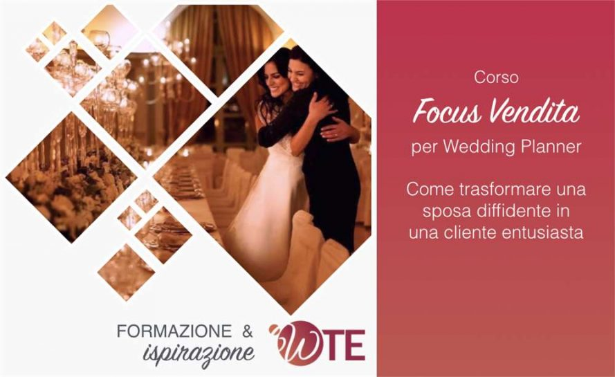 focus vendita per wedding planner