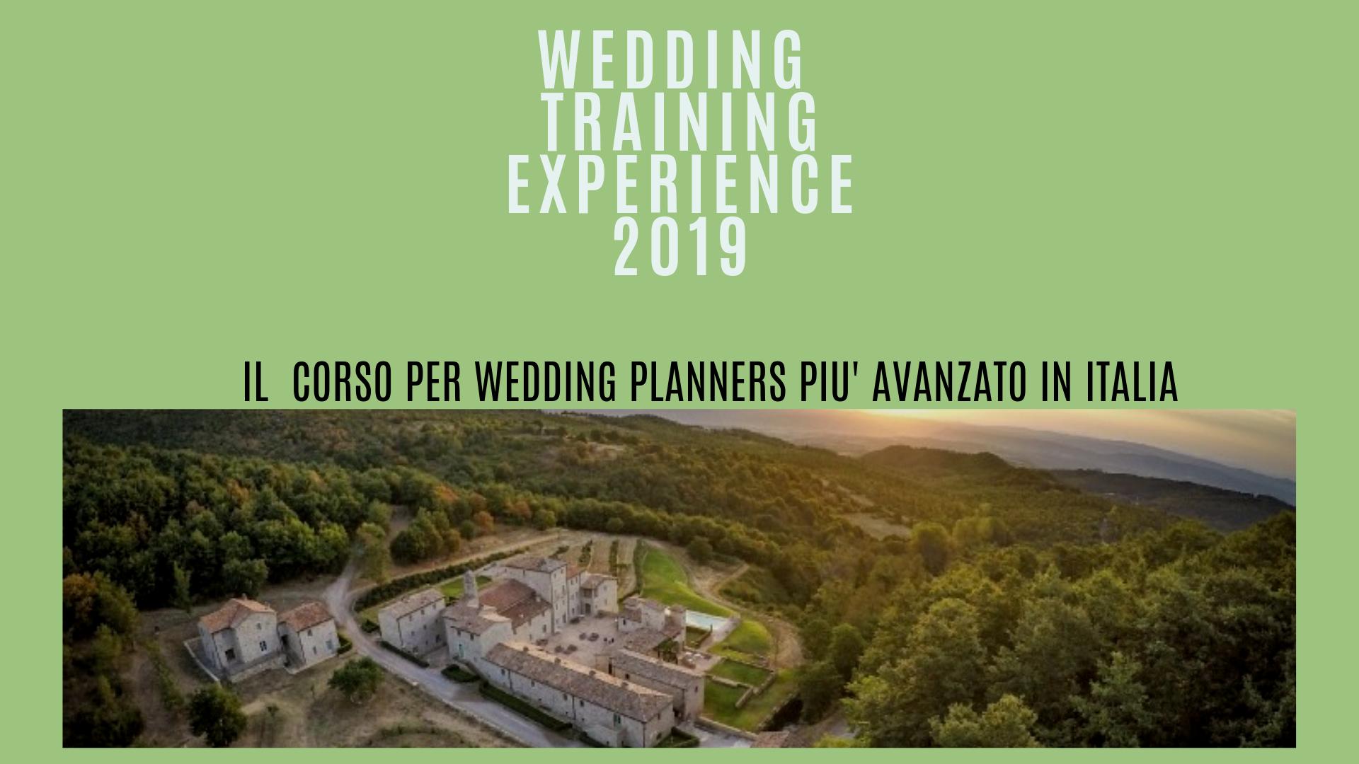 corso avanzato per wedding planner