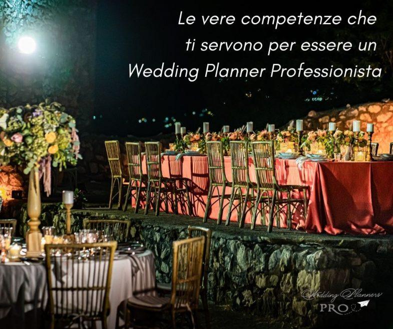 Le vere competenze che ti servono per diventare Wedding Planner