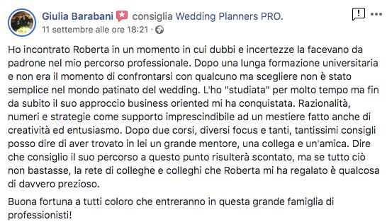 corso wedding planner opinioni