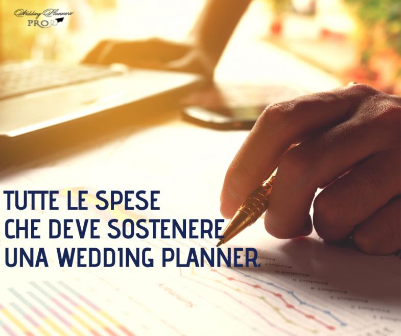Tutte le spese che deve sostenere una Wedding Planner