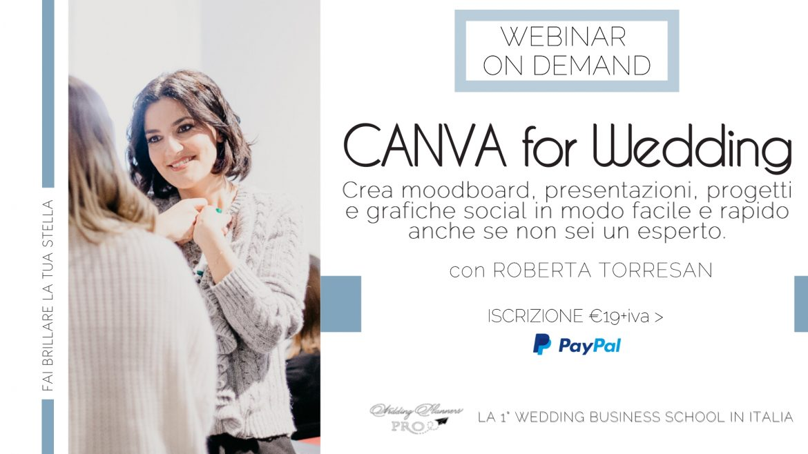canva for wedding