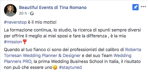 recensione wedding planners pro