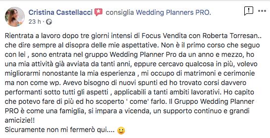 recensione corso wedding planners pro