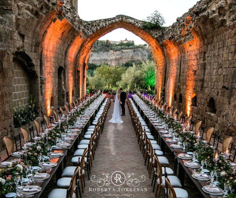 Roberta Torresan con Andrea Naar Alba: gli scenari del destination wedding