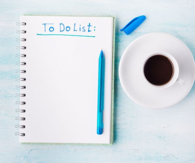 La To Do List della Wedding Planner