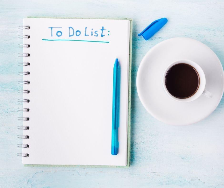 La To Do List della Wedding Planner